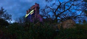 Hollywood tornhotell på studior för Disney ` s Hollywood royaltyfri foto