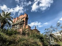 Hollywood Tower Hotel at Disney`s Hollywood Studios. Hollywood Tower Hotel - the Tower of Terror - at Disney`s Hollywood Studios in Orlando, Florida royalty free stock photos