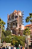 Hollywood Tower Hotel in Disney World Stock Photo