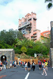 Hollywood Tower Hotel, Hollywood Studios, Orlando, FL. Royalty Free Stock Photo