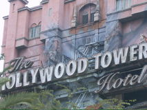 Hollywood tower terror Royalty Free Stock Photography