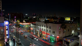 Hollywood und Hochland stock video
