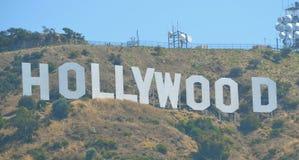 Hollywood undertecknar Royaltyfria Foton