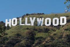 Hollywood unterzeichnen herein die Hügel von Hollywood - Kalifornien, USA - 18. März 2019 stockfotografie
