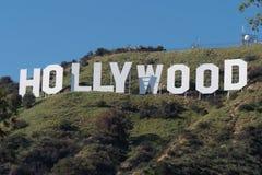 Hollywood unterzeichnen herein die Hügel von Hollywood - Kalifornien, USA - 18. März 2019 lizenzfreie stockbilder