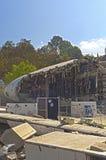Hollywood USA, Oktober, 2: Konstgjorda Immitation av Airplanen arkivfoto