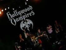 Hollywood vampyrkonsert arkivbilder