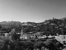 Hollywood. View of Hollywood Stock Images