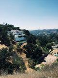 Λόφοι Hollywood στοκ εικόνες