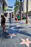 Hollywood Walk of Fame Royalty Free Stock Image