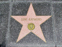Hollywood Walk of Fame - Gene Raymond Royalty Free Stock Photos