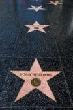 Hollywood Walk of Fame Stock Image