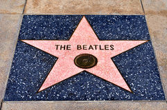 Hollywood Walk of Fame, Los Angeles, United States stock photos