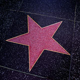 Hollywood Walk of Fame in Los Angeles, United States Stock Images