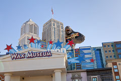 Hollywood Wax Museum in Pigeon Forge, Tennessee Royalty Free Stock Images