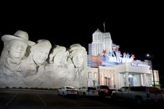 Hollywood Wax Museum in Pigeon Forge, Tennessee Stock Photos