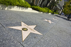Hollywood-Weg des Ruhmes Stockbilder