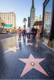 Hollywood-Weg des Ruhmes Lizenzfreie Stockbilder