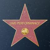Hollywood-Weg des Ruhmes lizenzfreie abbildung