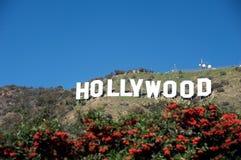 Hollywood-Zeichen Stockfotos