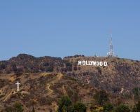 Hollywood-Zeichen Stockbild