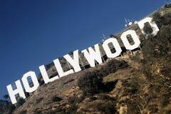 Hollywood-Zeichen Stockfoto