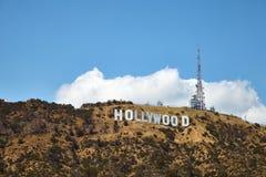 Hollywood-Zeichen, am LA, Kalifornien am 23. Mai 2016 stockfotografie