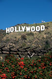 hollywood znak Zdjęcia Royalty Free