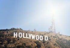 Hollywood znak Fotografia Royalty Free
