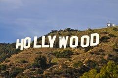 Hollywood znak fotografia stock