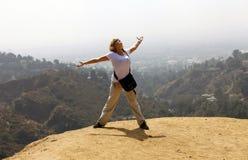 Hollywoodheuvel stock foto