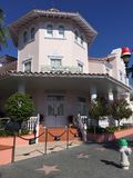 Hollywoodhotel, Universele Studio's, Orlando, FL stock foto's