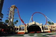 Hollywoodrip-Fahrt Rockit an Universal Studios Stockfotografie