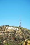 Hollywoodteken dat op Onderstel Lee wordt gevestigd Royalty-vrije Stock Foto's