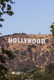 Hollywoodteken in Onderstel Lee, Los Angeles stock foto