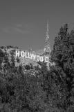 Hollywoodteken van het Meer Stock Fotografie