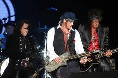 Hollywoodvampieren - Johnny Depp en Joe Perry royalty-vrije stock fotografie