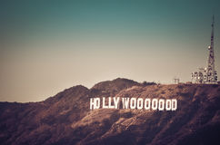 Hollywoooooood Photos libres de droits