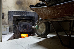 Holm oak oven Royalty Free Stock Photo