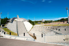 Holmenkolen Ski Jump at summer Stock Images