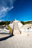 Holmenkolen Ski Jump at summer Stock Photo