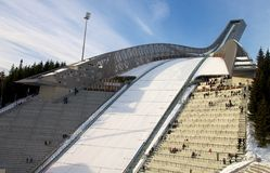 Holmenkollbakken Ski Jump, Norway Stock Photos