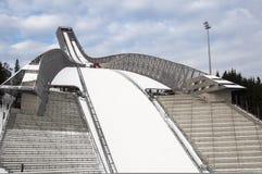 Holmenkollen Ski Jump Arena Imagen de archivo