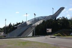 Holmenkollen ski jump hill Oslo Stock Photos