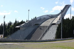 Holmenkollen ski jump hill Oslo Royalty Free Stock Photography