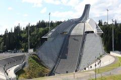 Holmenkollen ski jump hill Oslo Stock Photo