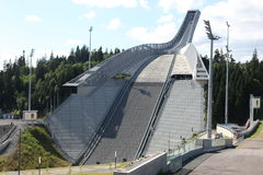 Holmenkollen ski jump hill Oslo Stock Image