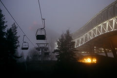 Holmenkollen Ski Jump Tower fotografia stock libera da diritti