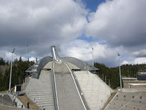 Holmenkollen view Royalty Free Stock Images