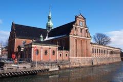 Église de Holmens, Copenhague Image libre de droits